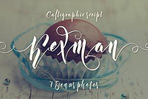 Kexman font + Cupcake photos