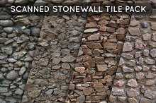 Scanned Stonewall Tile Pack 01 by  in Textures & Materials
