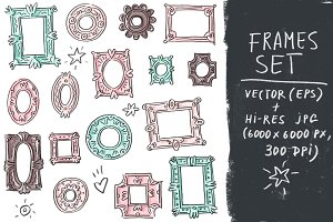 Vector set collection with frames