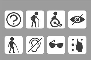 Disabled iconset