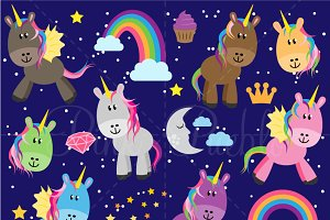 Unicorn Clipart and Vectors
