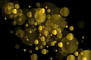 Abstract background, Christmas gold