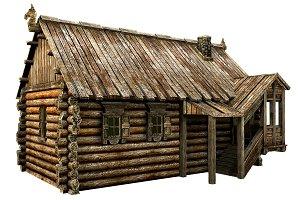 Wooden Village House