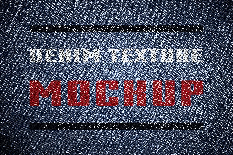 Denim mockup ~ Product Mockups ~ Creative Market