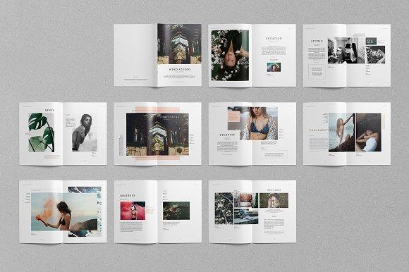 photography portfolio brochure templates creative market