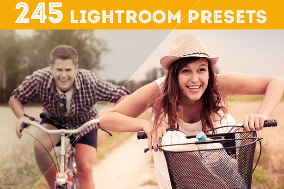 245 Lightroom Presets in Add-Ons