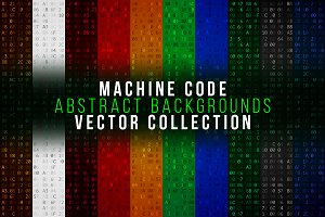 Abstract computer code backgrounds