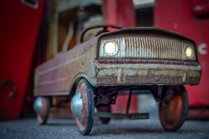 Rusty Toy Car