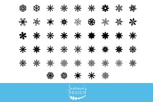 Snowflake SVG Cut Files