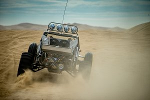 Sand Car in the Dunes