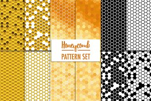 12 Honeycomb Pattern Set