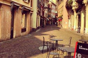 Switzerland Village Old Town Street