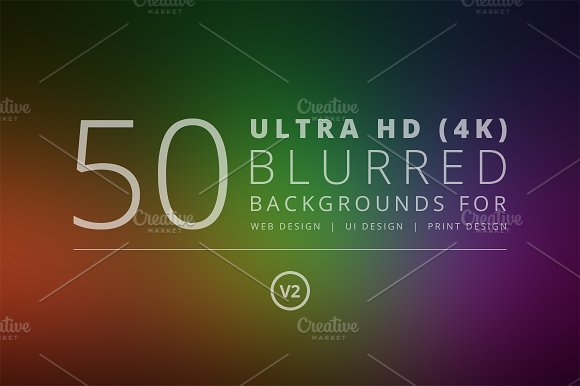 50 Ultra HD Blurred Backgrounds v2