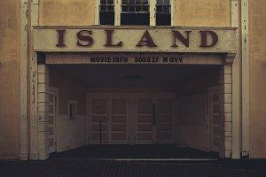 Abandoned Island Movie Theater
