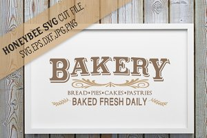 Bakery Country Sign