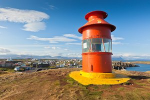 Lighthouse, Iceland