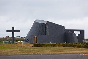 Modern Iceland Church