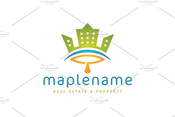 Maple Town Logo