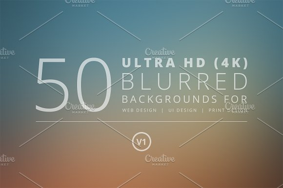 50 Ultra HD Blurred Backgrounds v1