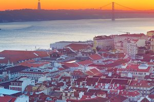 Beautiful Lisbon, Portugal