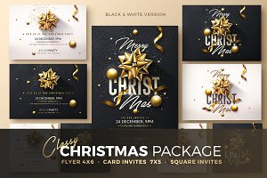 Christmas Invitation - Psd Package