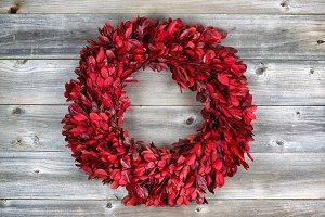 Autumn Wreath for the Holidays