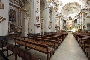 Interior of Church of Altea