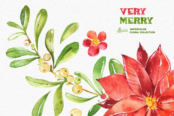 Very Merry. Holiday Collection - Illustrations