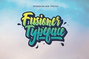 Fusioner Typeface (Intro Sale!)