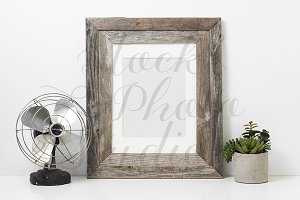 Rustic Frame Styled Mockup #F111