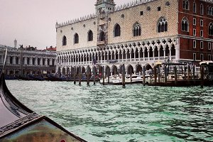 Italy Venice Old Church View