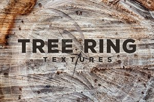 14 Tree & Wood Ring Textures