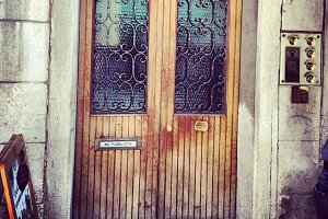 Vintage Venice Rusty Door