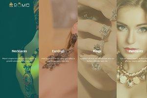 Rome Shopify Theme Jewelry / Fashion