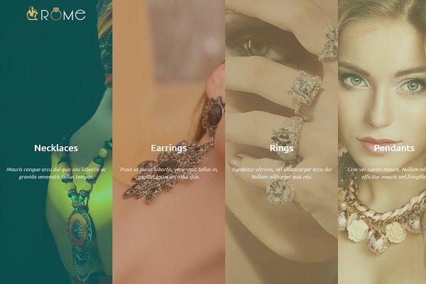 Rome Shopify Theme Jewelry / Fashio…