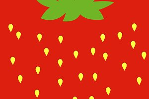 background Texture strawberry