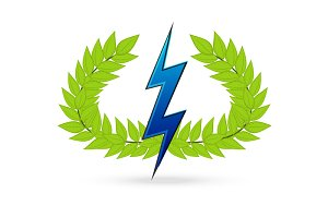 thunder symbol of greek god zeus