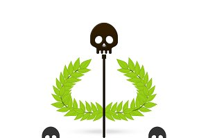 skull symbol of greek god hades