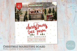IC036 Christmas Marketing Board