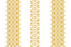 Tribal seamless pattern isolated