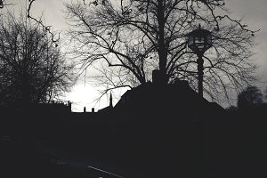 A gothic Sunset