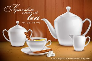 TeaTime SuperRealistic Set