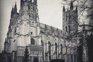 Canterbury Cathedral at Christmas