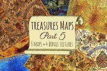 Vintage Treasure Maps. Part 5
