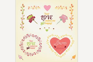 Vector Romantic Collection