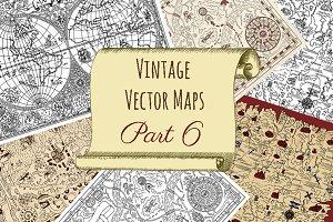 Vintage Vector Maps