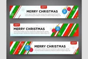 Banner set. Christmas