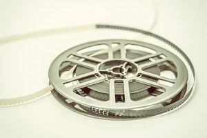 Vintage film reel