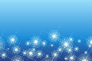 Shining stars pattern