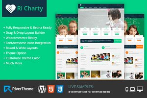 Ri Charity Fully Responsive Theme